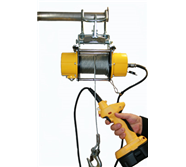 Wire Rope Hoists, Electric & Battery