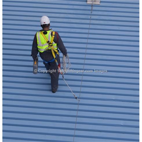Permament Horizontal Safety Line System - PRIM