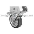 1250kg Aluminium Gantry, 4mtr beam, 3200-5400mm