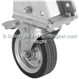 3000kg Aluminium Gantry, 4mtr beam, 1600-2200mm