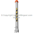 Lightweight Aluminum Rescue Tripod With Adjustable Height For Confined Space Work