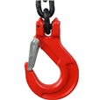 17 tonne 4Leg ChainSling, Latch Hooks, Adjusters