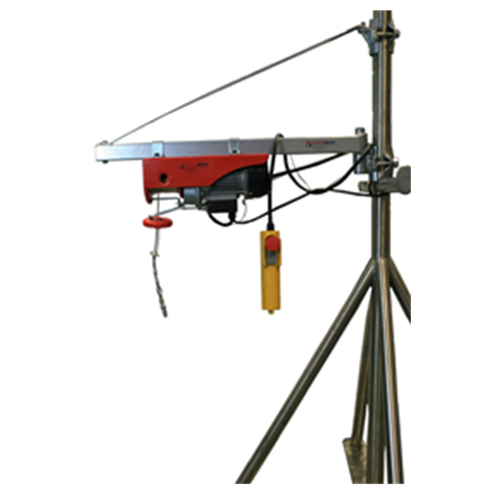 Electric Wire Rope Hoist 125kg, 240volt x 18mtr HOL  Safety Lifting