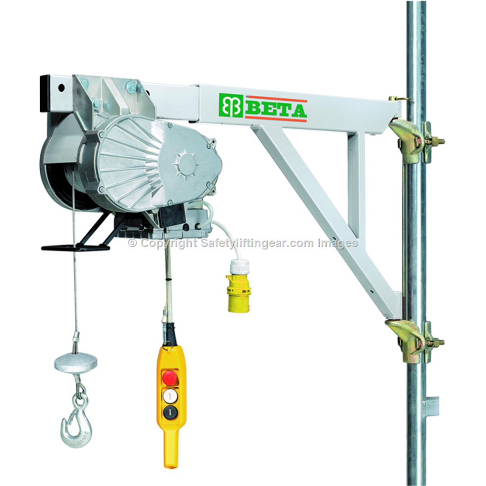 Electric Cable Hoist 110v : Scaffold hoist kg v mtrs lift lg kt tm