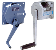 Wall-mounted Hand Winches