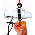 Electric hoist 250kg, 240 volt c/w bag.