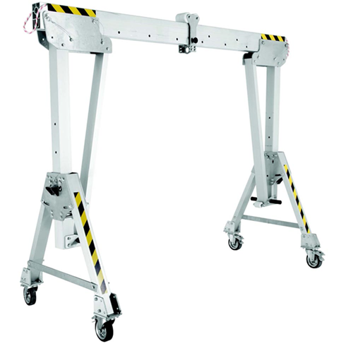 3000kg Aluminium Gantry, 2mtr beam, 1600-2200mm