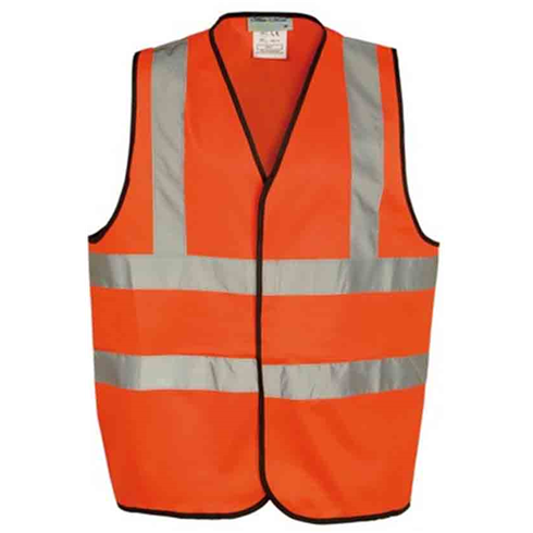 Orange Hi-Viz Waist Coat M - XL