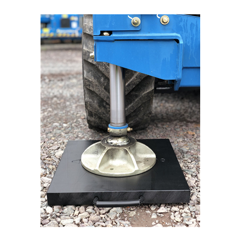 Ecolift 500x500x40mm Square Outrigger Pad