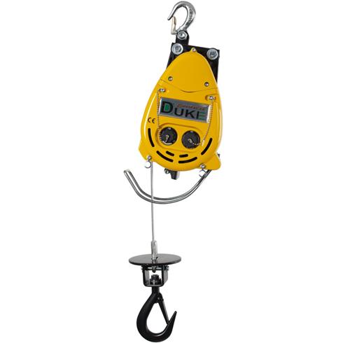 300kg 110volt Wire Rope Hoist c/w Hook Attachment