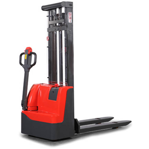 1000kg Powered Electric Stacker - Full electric lift and movement