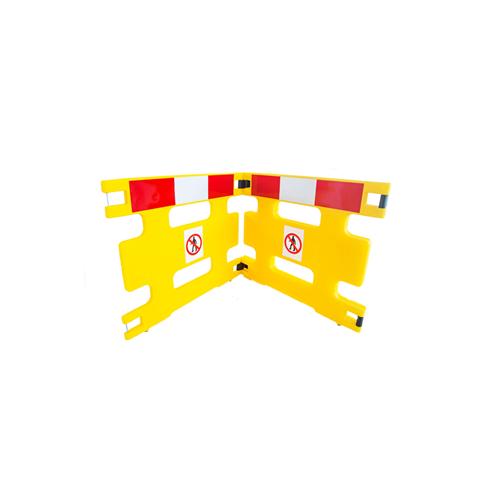 Addgards Handigard 2-panel Red/White Safety Barrier