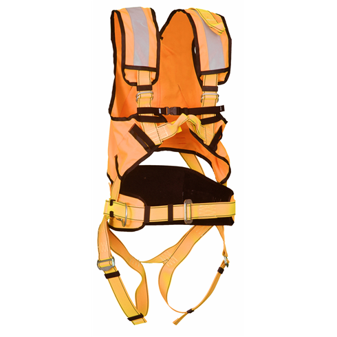 P50 Multipurpose Safety Harness And Hi Viz (Orange)