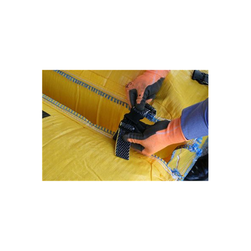 AirDeck Flame Retardand Anti-static Top and Bottom Clip Fall Arrest Soft Landing Bag