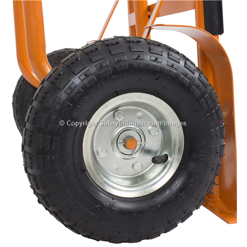 Heavy Duty Sack Truck with Pneumatic Tyres 300KG