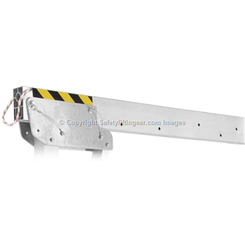 2000kg Aluminium Gantry, 6mtr beam, 1600-2200mm