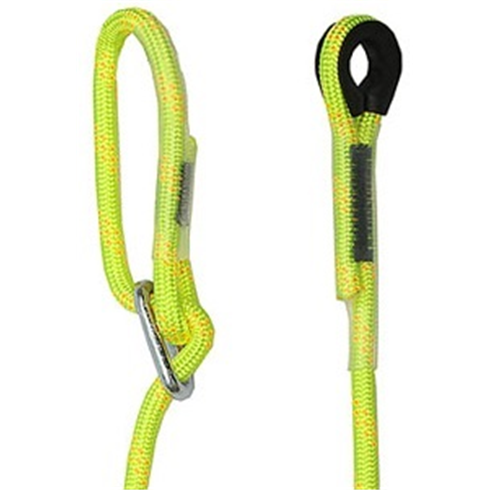 Adjustable Rope Lanyard, Thimble Eye at One End, 1m - 2m