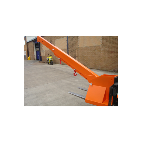 1tonne Fork Mounted Adjustable Height Extending Jib