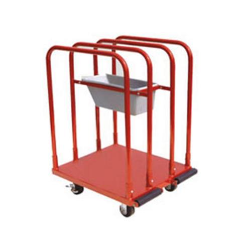 4wheel Panel/Plaster Board Trolley c/w Tray