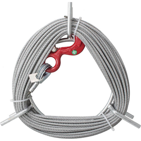 20mtr, 30mtr, 60mtr or 120mtr Rope to suit LM500 Fixator Wire Rope Hoist
