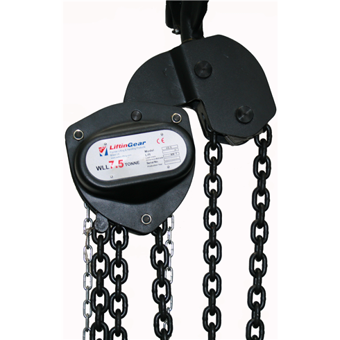 LiftinGear 7.5 tonne ChainBlock
