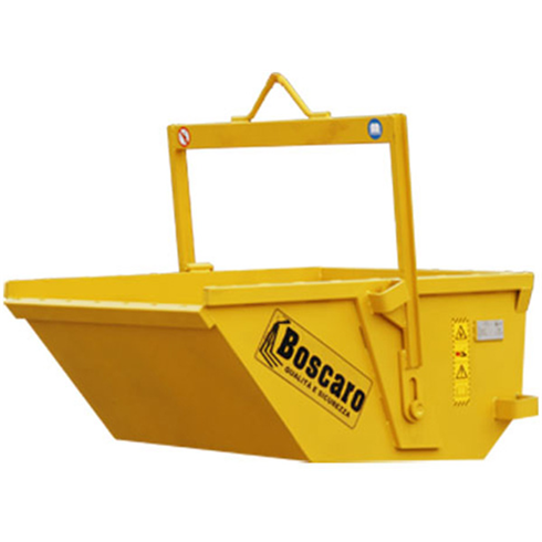 Boscaro 1000ltr Automatic Boat Tipping Skip