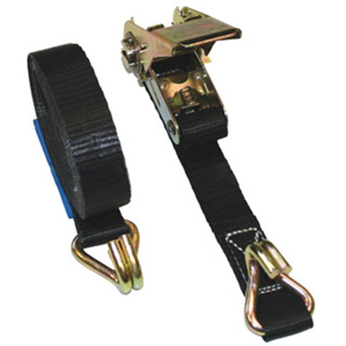 500 Kilograms MBS Ratchet Lashing, Chassis Hooks 4mtr - 6mtr