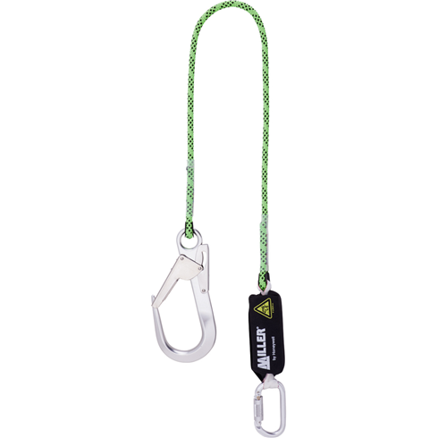 Miller 1032380 Edge Tested Kernmantel 2mtr Shock Absorbing Lanyard c/w Scaffold Hook