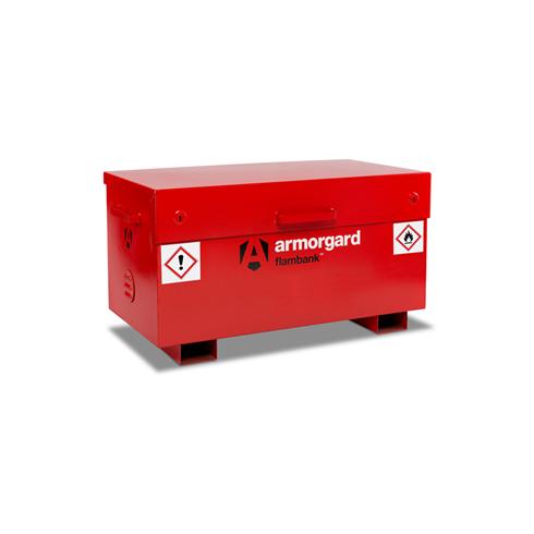 Armorgard FB2 FlamBank Hazardous Site Storage Box 1275x665x660mm