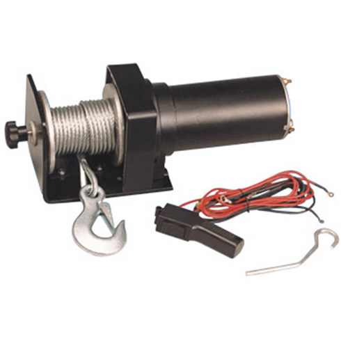 Electric Vehicle Winch 12vDC 1500LBS(682kgs)