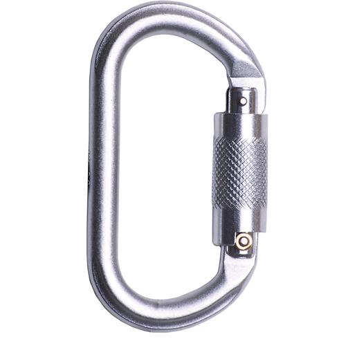 Karabiner Screw Lock, Stainless Steel (19mm Opening)