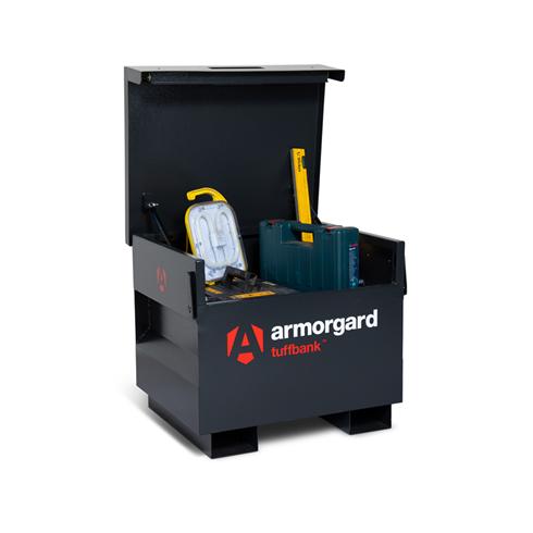 Armorgard TB21 Tuffbank Site Storage Box 765x675x670mm