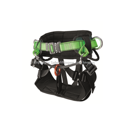 Tree Climbing Suspension Seat Harness with Quick Release Buckles