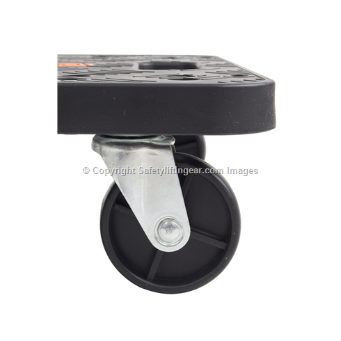 100kg Plastic Hand Trolley Dolly 370 x 500mm