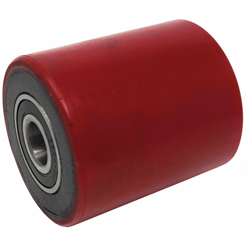 80 x 90mm 2 Tonne Red Pallet Truck Load Wheel