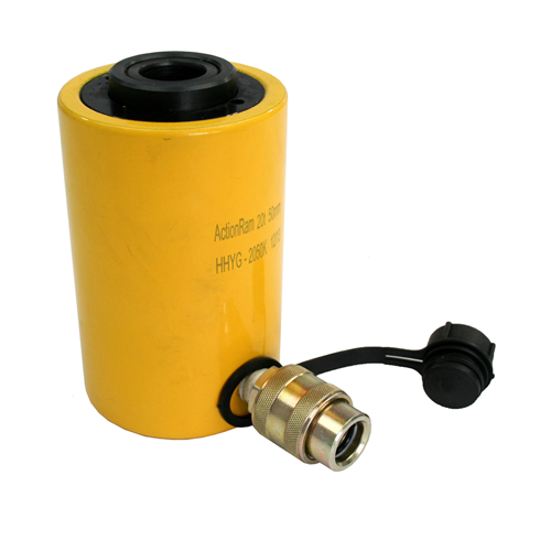 100t hollow cylinder 75mm stroke