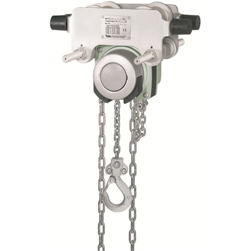 YaleLift 4000kg Corrosion Resistant Integral Geared Trolley Hoist