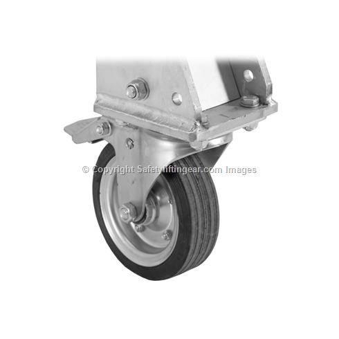 1250kg Aluminium Gantry, 4mtr beam, 2200-3600mm