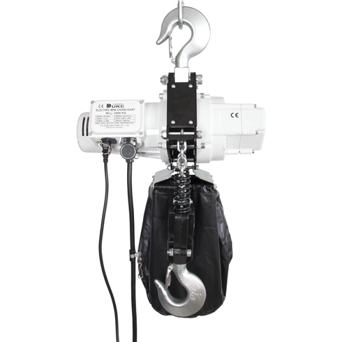 2 Tonne 240volt Electric Chain Hoist 3mtr to 12mtr