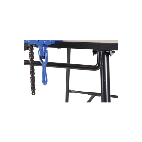 Armorgard TuffBench Folding Workbench c/w Wheels, Handle, Chain Vice and Engineers Vice BH1080-VWK