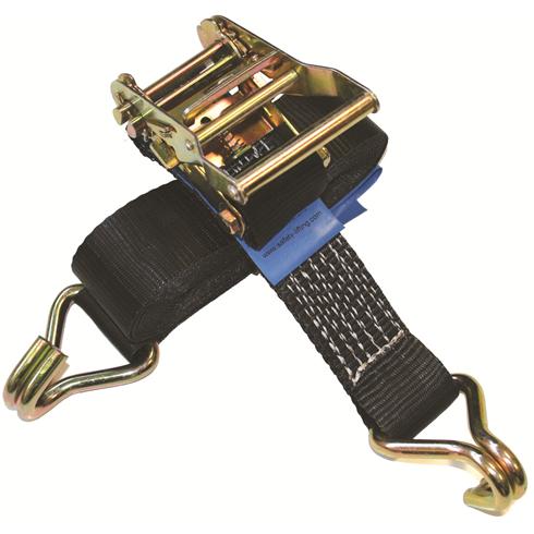 3000 Kilograms MBS Ratchet Lashing Straps c/w Claw Hooks 4mtr - 6mtr