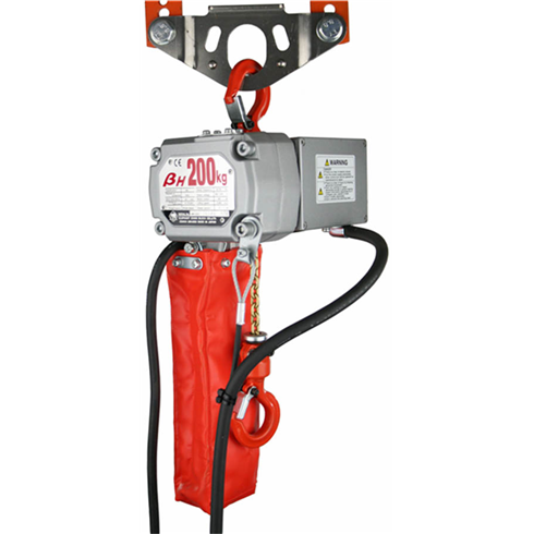 Beta Compact Electric Chain Hoist 200 kg, 240v 3m - 10m