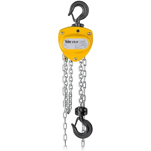 Yale VSIII 500kg Manual Chainblock 3mtr to 20mtr