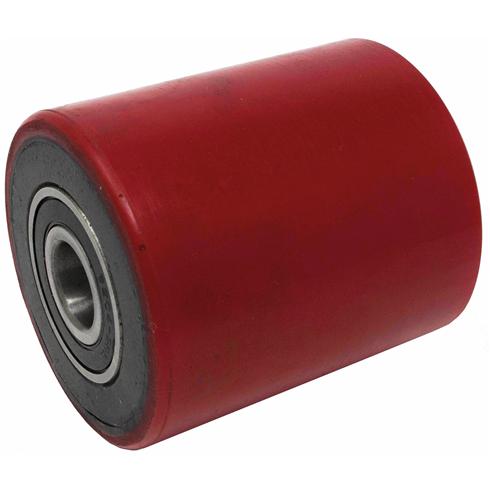 70 x 80mm 2.5 Tonne Red Pallet Truck Load Wheel