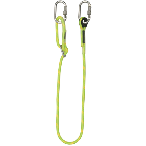Adjustable Rope Lanyard And Karabiners, 1m - 2m