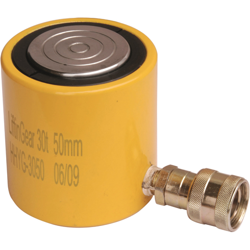 20t - 50mm Stroke Low Profile Cylinder