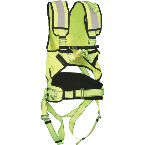 P50 Multipurpose Safety Harness And Hi Viz (Yellow)