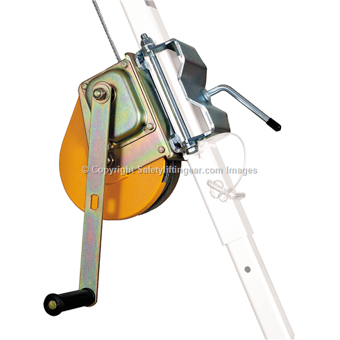 Tripod Rescue Winch, 20m - 25m