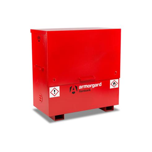 Armorgard FBC4 FlamBank Hazardous Site Storage Chest 1275x675x1270mm