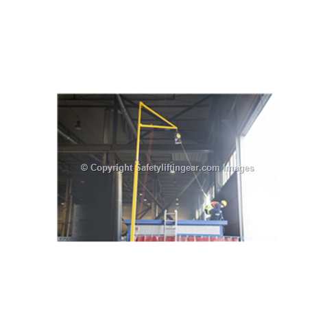 RJ200 Hangman Frame Lorry/Container Access Anchor without Weights